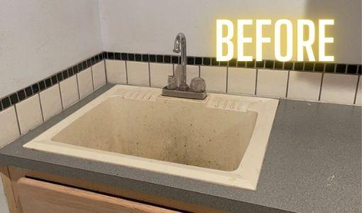 Backsplash installation process